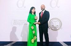 Vietcombank named Vietnam's best bank in 2017 by Alpha SEA