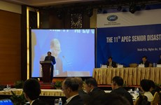 APEC senior officials seek ways to cope with disaster risks