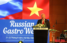 Russian Gastro Week opens in Hanoi