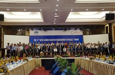 APEC shares experience in technology application to address disasters