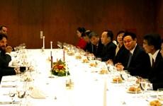 Deputy PM Vuong Dinh Hue visits Slovakia