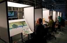 Painted film about Van Gogh to be screened in VN