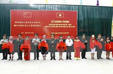 Vietnam-China border friendship cultural house inaugurated in Lai Chau