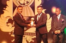 Vietnam honoured at AFF Awards