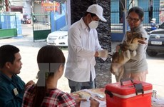 Bac Giang meeting responds to World Rabies Day