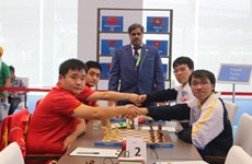 Vietnamese players win AIMAG rapid chess event