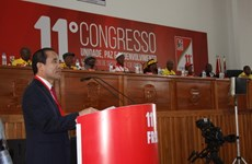 CPV delegation attends congress of FRELIMO Party