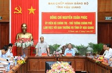 PM suggests Hau Giang develop smart agriculture