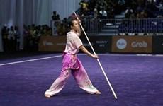 Wushu athlete wins world gold medal for Vietnam