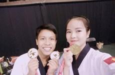 VN taekwondo artists win gold medals at Canada Open