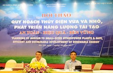 Workshop looks at obstacles in developing renewable energy