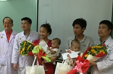 Conjoined twins separated at HCM City's hospital