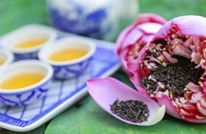 New project to promote lotus tea in Hanoi