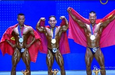Vietnam has gold at world bodybuilding championships
