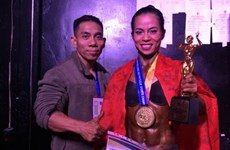 Vietnam wins four golds at world bodybuilding champs
