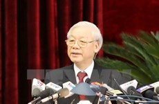 Party Central Committee adopts sixth session's resolution