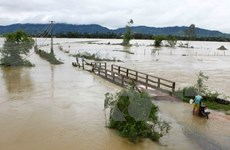 Downpours cause road damage, threaten reservoirs
