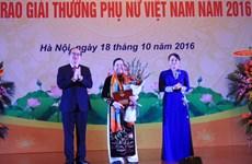 Winners of Vietnam Women Award 2017 announced