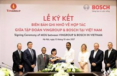 Bosch becomes VINFAST's supplier of automotive parts