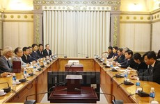 HCM City eyes cooperation in support industries with Japan's Kawaguchi