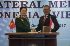 Vietnam, Indonesia sign declaration on joint vision on defence cooperation