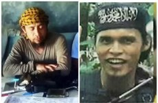 Philippines kills two leaders of pro-IS militants in Marawi