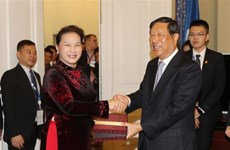 Vietnam, China promote legislative ties