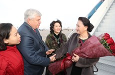 NA Chairwoman arrives in Astana for Kazakhstan visit