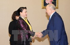 NA Chairwoman meets Secretary of Kazakhstan communist party