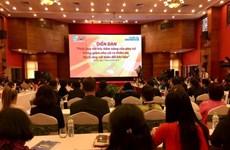 Workshop seeks to promote women's engagement in natural disaster mitigation