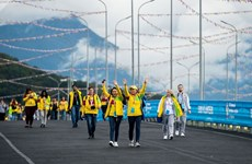Vietnam's youths active in Sochi