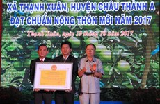 Hau Giang has 20th new-style rural commune