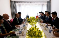APEC 2017: Finance Minister meets IMF deputy manager in Quang Nam