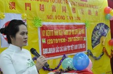 Vietnamese in Macau celebrate Women's Day