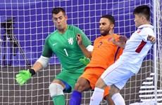 Vietnam rank third in international futsal tournament