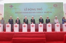 Ground broken for 16 million USD candy factory in Nghe An