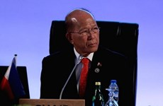 ASEAN Defence Ministers discuss security issues with partners