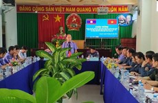 Long An shares experience with Laos in prosecution practices