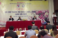 Vietnam-China int'l trade fair slated for Lang Son in November