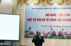 Seminar promotes foreign news services
