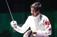 Asian U23 fencing champs opens in Hanoi