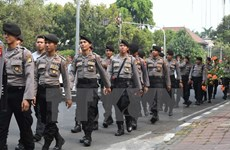 Indonesia arrests nine terrorist suspects