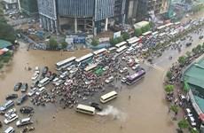 Hanoi prepares detailed anti-flood master plan