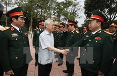 Party chief hails Military Zone 4 for ensuring social security