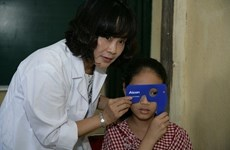 Almost half of city kids have eyesight issues