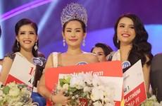 Le Au Ngan Anh crowned Miss Ocean Vietnam 2017