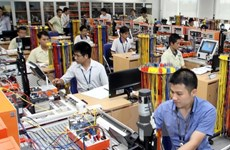 Industrial production index on growth track in ten months