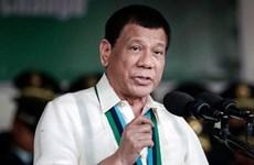 Philippine President begins Japan's visit