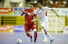 Vietnam crush Myanmar 3-0 in Southeast Asian Futsal Cup