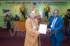 Vietnamese Buddhism introduced in Africa